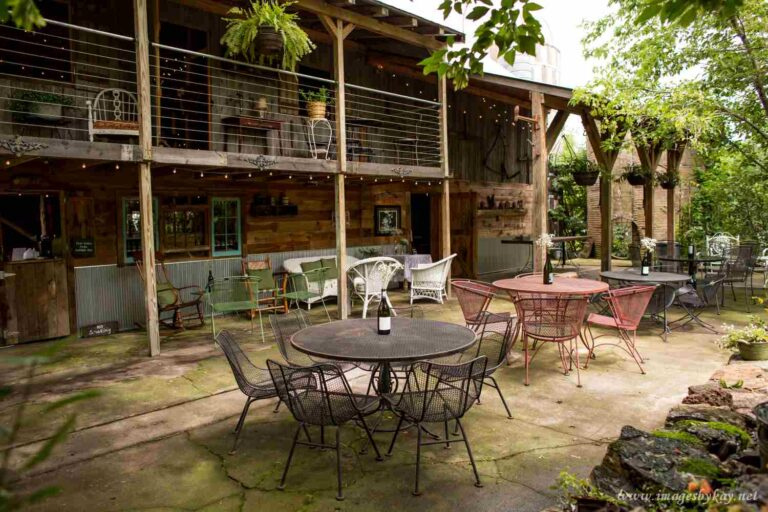 Event Barn Garden area